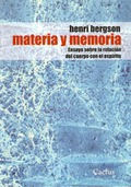 MATERIA Y MEMORIA.