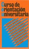 CURSO ORIENTACION UNIVERSITARIA