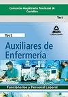 AUXILIAR DE ENFERMERÍA, CONSORCIO HOSPITALARIO PRONVICIAL DE CASTELLÓN. TEST