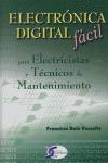 ELECTRÓNICA DIGITAL FÁCIL PARA ELECTRICISTAS