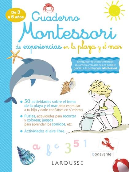 CUADERNO MONTESSORI DE EXPERIENCIAS EN LA PLAYA Y EL MAR.