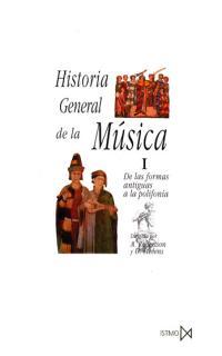 HISTORIA GENERAL DE LA MUSICA I
