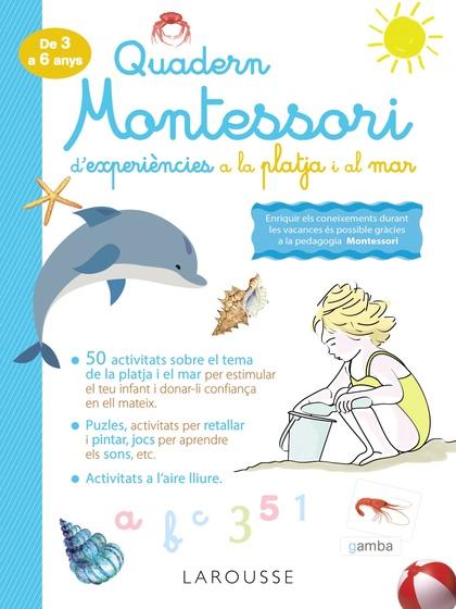 QUADERN MONTESSORI D´EXPERIÈNCIES A LA PLATJA I AL MAR.
