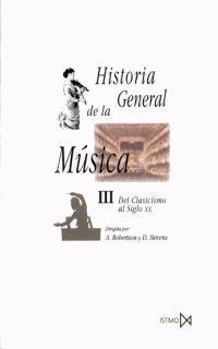 HISTORIA GENERAL DE LA MUSICA III