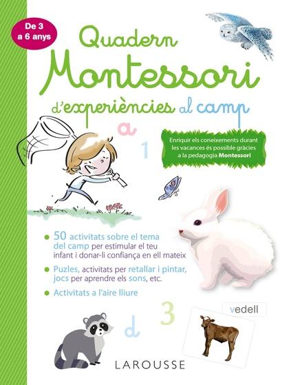 QUADERN MONTESSORI DE EXPERIÈNCIES AL CAMP