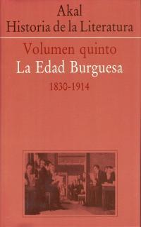 HISTORIA DE LITERATURA VOL QUINTO EDAD BURGUESA 1830-1914