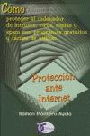 PROTECCIÓN ANTE INTERNET.