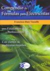 COMPENDIO DE FÓRMULAS PARA ELECTRICISTAS