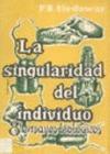 LA SINGULARIDAD DEL INDIVIDUO