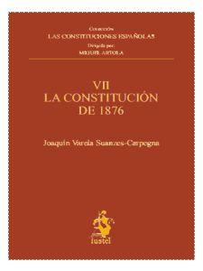 VIII. LA CONSTITUCIÓN DE 1931. LAS CONSTITUCIONES ESPAÑOLAS VIII