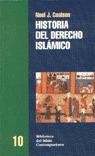 HISTORIA DEL DERECHO ISLAMICO (N.10 BIBLI.ISLAM CONT.)