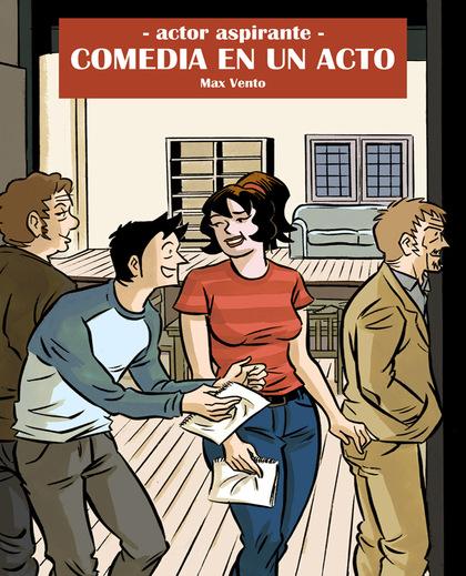 COMEDIA DE UN ACTO, ACTOR ASPIRANTE 3