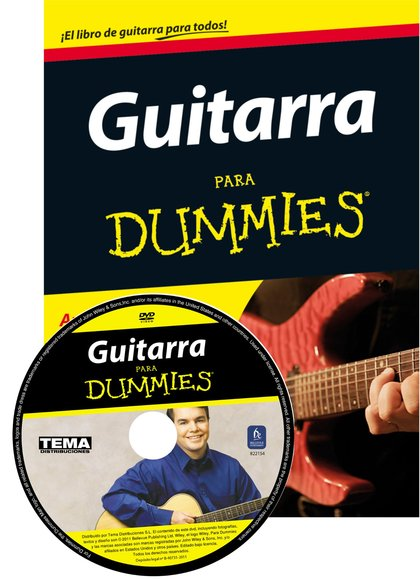 PACK GUITARRA PARA DUMMIES + DVD.