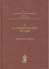 V. LA CONSTITUCION DE 1869