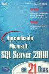 APRENDIENDO MICROSOFT SQL SEVER 200 21 DIAS+CD