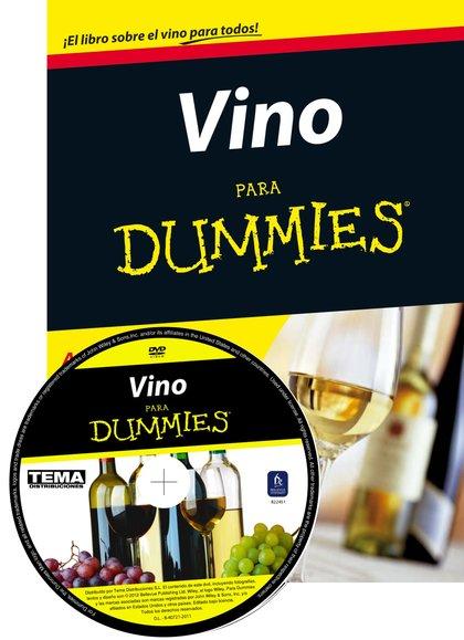 PACK VINO PARA DUMMIES + DVD.