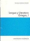 LENGUA Y LITERATURAS GRIEGAS, I