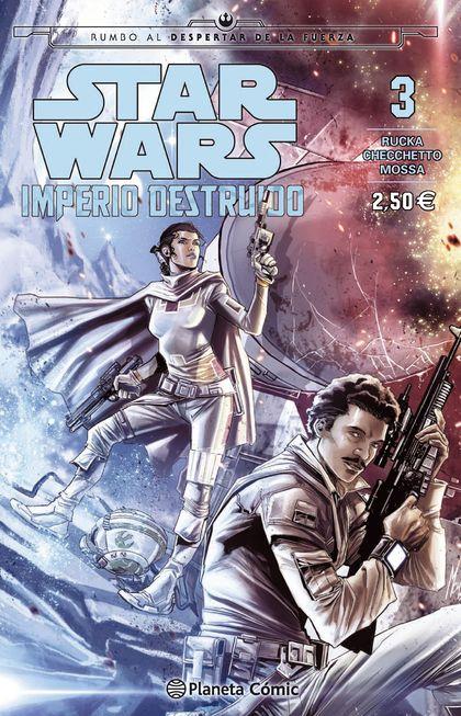 STAR WARS IMPERIO DESTRUIDO (SHATTERED EMPIRE) N º03