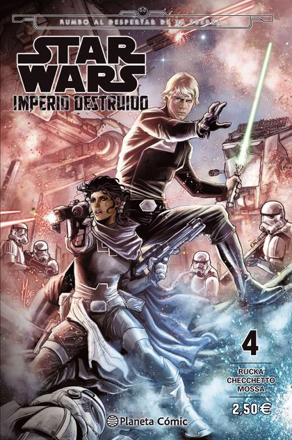 STAR WARS IMPERIO DESTRUIDO (SHATTERED EMPIRE) Nº 04