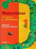 MATEMÁTICAS, 1 EDUCACIÓN PRIMARIA. MATERIAL DE APOIO DIDÁCTICO