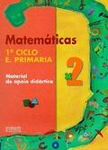 MATEMÁTICAS, 2 EDUCACIÓN PRIMARIA. MATERIAL DE APOIO DIDÁCTICO