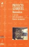 Proyecto Azarquiel, matemáticas, 1  ESO. Libro del profesor