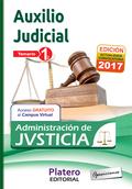 CUERPO DE AUXILIO JUDICIAL DE LA ADMINISTRACIÓN DE JUSTICIA. TEMARIO. VOLUMEN I.