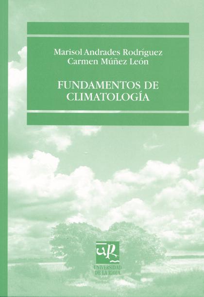 FUNDAMENTOS DE CLIMATOLOGÍA