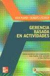GERENCIA BASADA EN ACTIVIDADES