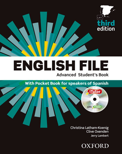 ENGLISH FILE ADVANCED. STUDENT+ITUTOR+POCKET  3ªED