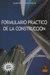 FORMULARIO PRÁCTICO DE LA CONSTRUCCIÓN
