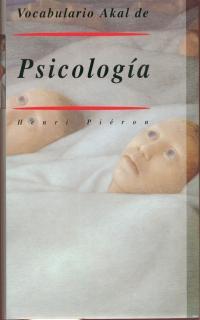 VOCABULARIO DE PSICOLOGIA