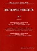 RELECCIONES Y OPÚSCULOS II-2 : DE HAERESI, CARTAS, AN IUDAEI COGNOVERINT CHRISTUM-- , SUMMA DE