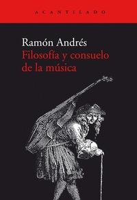 FILOSOFIA Y CONSUELO DE LA MUSICA.
