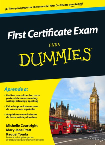 FIRST CERTIFICATE EXAM PARA DUMMIES.