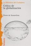 CRÍTICA DE LA GLOBALIZACIÓN