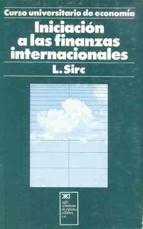 INICIACIÓN A LAS FINANZAS INTERNACIONALES