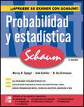 PROBABILIDAD Y ESTADISTICA SCHAUMS
