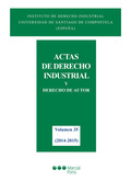 ACTAS DE DERECHO INDUSTRIAL. VOL 35 (2014-2015)