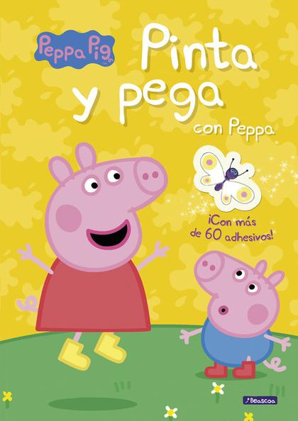 PINTA Y PEGA CON PEPPA (PEPPA PIG).