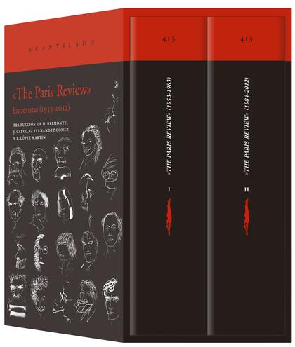«THE PARIS REVIEW» (ESTUCHE). ENTREVISTAS (1953-2012)