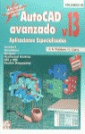 AUTOCAD AVANZADO V.13 APLICACIONES ESPECIALIZADAS