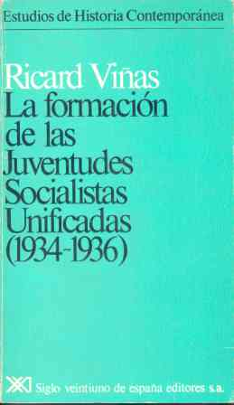 FORMACION DE LAS JUVENTUDES SOCIALISTAS UNIFICADAS