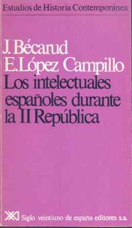 INTELECTUALES ESPAÑOLES