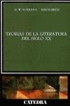 Teorías de la literatura del siglo XX