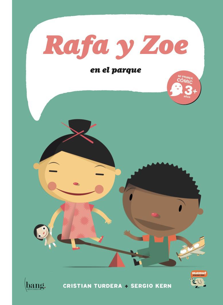 RAFA Y ZOE, EN EL PARQUE