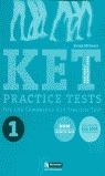 KET PRACTICE TEST 1 FOR THE CAMBRIDGE KEY ENGLISH, ESO. TEACHER´S RERS
