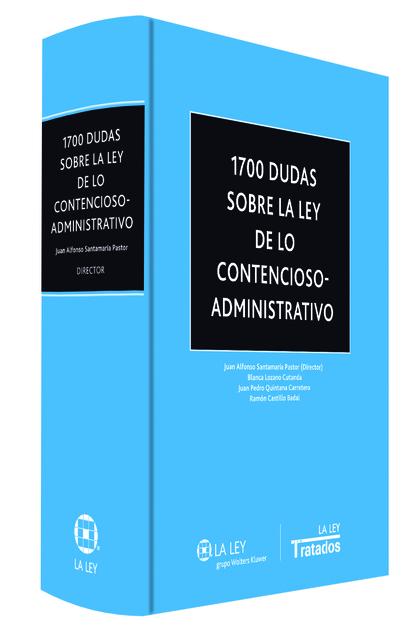 1700 DUDAS SOBRE LA LEY DE LO CONTENCIOSO-ADMINISTRATIVO