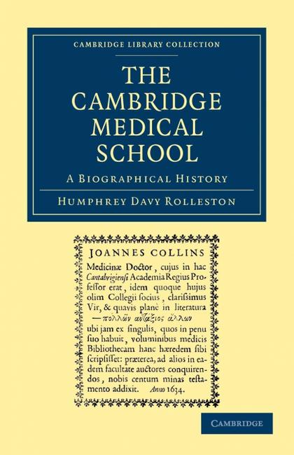 THE CAMBRIDGE MEDICAL SCHOOL