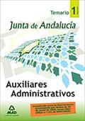 AUXILIARES ADMINISTRATIVOS TEMARIO VOL.I (2009) JUNTA ANDALUCIA.